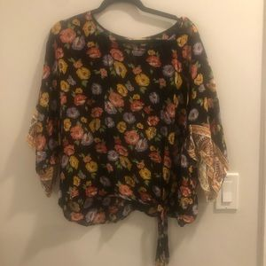 Light Floral All Year Top
